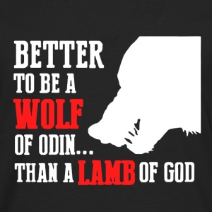 Wolf Of Odin Shirt - Men's Premium Long Sleeve T-Shirt