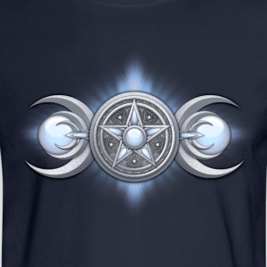 Moonstone Triple Goddess - Men's Long Sleeve T-Shirt