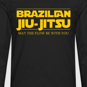BJJ Star Wars Brazilian Jiu-Jitsu T-shirt Women's T-Shirts - Men's Premium Long Sleeve T-Shirt