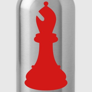 crazy chess piece Tanks - Water Bottle