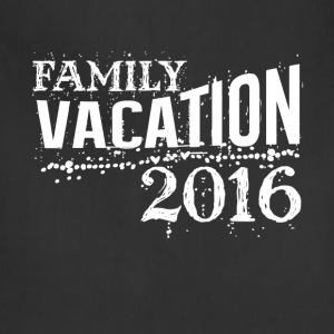 Family vacation 2016 best summer funny t-shirt - Adjustable Apron