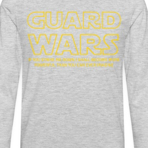 Guard Wars Brazilian Jiu-Jitsu T-shirt T-Shirts - Men's Premium Long Sleeve T-Shirt