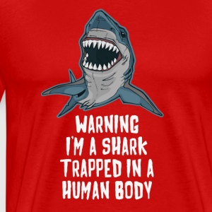 I'm a Shark Trapped in a Human Body BJJ T-shirt Sportswear - Men's Premium T-Shirt