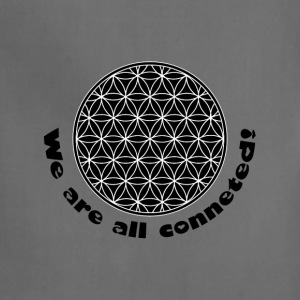 Flower of Life- We are all connected!  Women's T-Shirts - Adjustable Apron