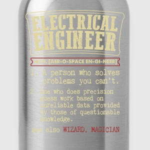 Electrical Engineer Funny Dictionary Term Men's Ba T-Shirts - Water Bottle