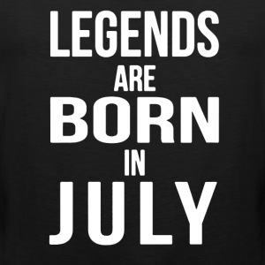 Born in July Shirt - Men's Premium Tank