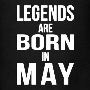 Born in May Shirt - Men's T-Shirt