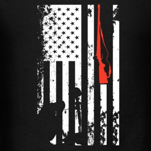 Veteran Flag Shirt - Men's T-Shirt