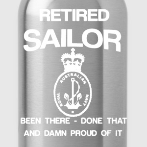 Retired Sailor Shirt - Water Bottle