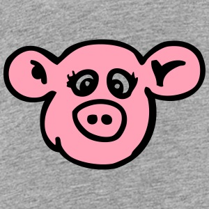 naughty sow pig Kids' Shirts - Toddler Premium T-Shirt