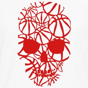 basketball skull form ball Women's T-Shirts - Men's Premium Long Sleeve T-Shirt