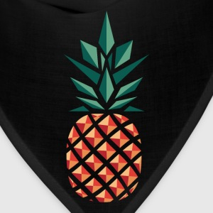 Pineapple (Geometric Style) Women's T-Shirts - Bandana