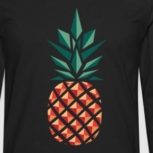 Pineapple (Geometric Style) Women's T-Shirts - Men's Premium Long Sleeve T-Shirt