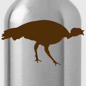 farm animal turkey 1305 Kids' Shirts - Water Bottle