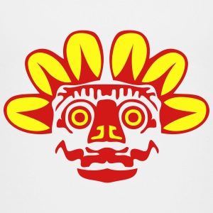 aztec statue mask 2 Kids' Shirts - Toddler Premium T-Shirt