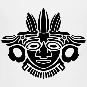 aztec statue mask Kids' Shirts - Toddler Premium T-Shirt