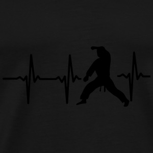 MY HEART BEAT FOR MARTIAL ARTS! Sportswear - Men's Premium T-Shirt