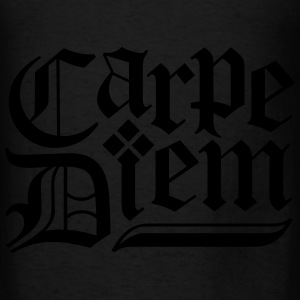 Carpe Diem Hoodies - Men's T-Shirt