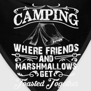Funny camping t shirt - drinking and camping - Bandana