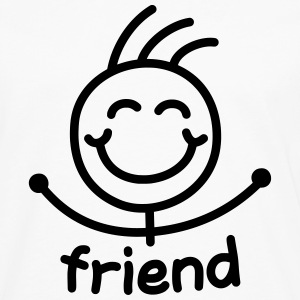 friendzoned - Men's Premium Long Sleeve T-Shirt