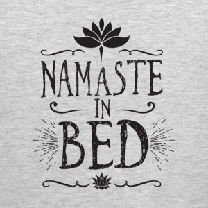 namaste in bed - Men's Premium Tank