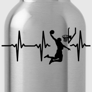 MY HEART BEATS FOR BASKETBALL T-Shirts - Water Bottle