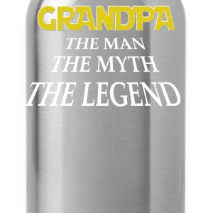 Grandpa the man the myth the legend - Water Bottle