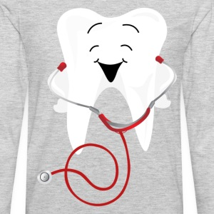 Dental care lovely illustration T-Shirts - Men's Premium Long Sleeve T-Shirt
