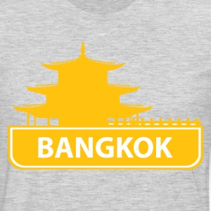 National landmark Bangkok silhouette - Men's Premium Long Sleeve T-Shirt