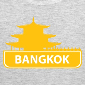 National landmark Bangkok silhouette - Men's Premium Tank