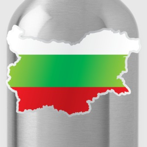 National territory and flag Bulgaria - Water Bottle