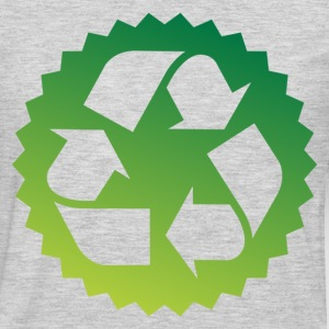 Green bio icon - Men's Premium Long Sleeve T-Shirt
