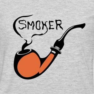 Smoker pipe art T-Shirts - Men's Premium Long Sleeve T-Shirt