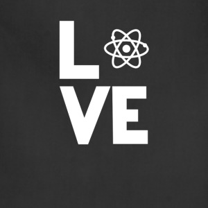 atom physics Love Funny T-Shirt T-Shirts - Adjustable Apron