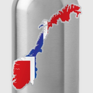 National territory and flag Norway T-Shirts - Water Bottle