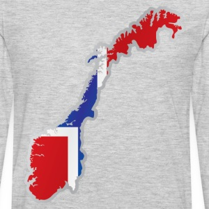 National territory and flag Norway T-Shirts - Men's Premium Long Sleeve T-Shirt