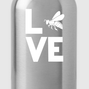 beekeeping Love Funny T-Shirt T-Shirts - Water Bottle