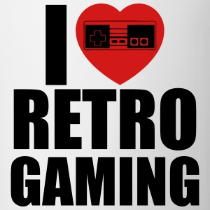 i love retro gaming T-Shirts - Coffee/Tea Mug