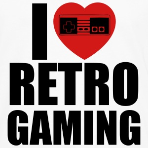 i love retro gaming T-Shirts - Men's Premium Long Sleeve T-Shirt