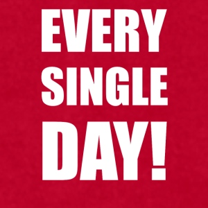 VK Every single day - Men's T-Shirt by American Apparel