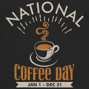 National Coffee Day Tanks - Men's Premium Long Sleeve T-Shirt