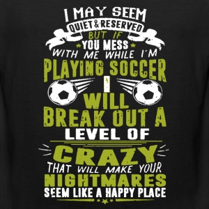 Playing Soccer Shirt - Men's Premium Tank