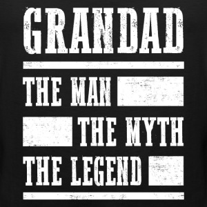 Grandad The Legend T-Shirts - Men's Premium Tank