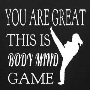 Body Mind Game - Men's Premium Tank