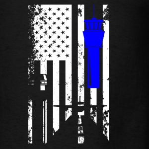 Air Traffic Control Flag - Men's T-Shirt