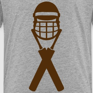 cricket bat helmet 1303_logo Kids' Shirts - Toddler Premium T-Shirt
