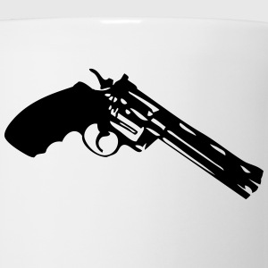 revolver gun pistol 302 Kids' Shirts - Coffee/Tea Mug