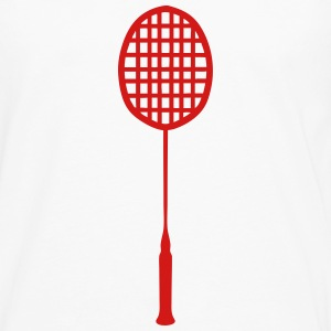 racket badminton 0 T-Shirts - Men's Premium Long Sleeve T-Shirt