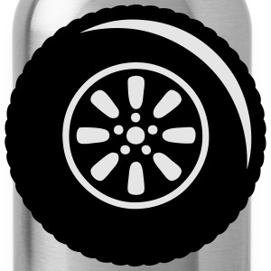 tire wheel 1302 T-Shirts - Water Bottle