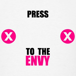 press x to the envy Tanks - Men's T-Shirt